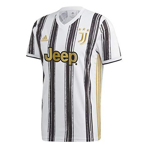 adidas Herren T-Shirt JUVE H JSY, White/Black, L, EI9894
