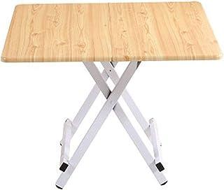 Relaxbx Table Pliante Table d'artisanat Table Simple Maison Table carrée Petite Maison Table à Manger Table d'ordinateur p...