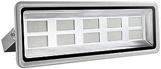 Missbee Super Bright 1000W LED Flood Light, 110000lm Outdoor Landscape Flood Light, Security Light, 6000-6500K, Work for Garage, Garden, Lawn,Yard and Playground (Cold White)