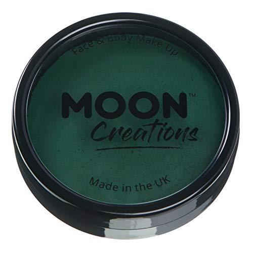 Moon Creations - Peinture Professionnelle pour Visage activée à l'eau - Vert Foncé