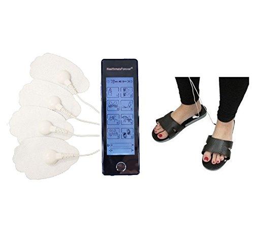 HealthmateForever 8 modos mejor a masajeador de pantalla táctil portátil eléctrico