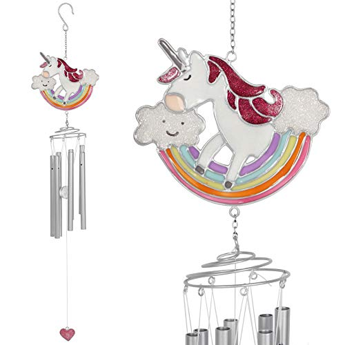 Jones Home et Cadeau Magique Rainbow Unicorn Carillon