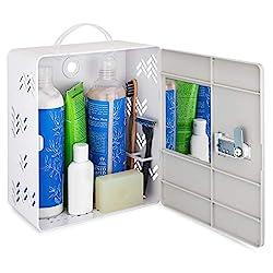 locker for toiletries