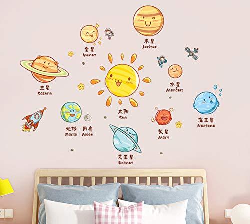 Pegatina de vinilo para pared, habitación de niños, decoración Kawaii, dormitorio, bebé, guardería, pegatinas de pared para habitaciones de niños, decoración para niños