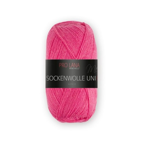 PRO LANA Sockenwolle Uni 4Fädig - Farbe: 422 - 100 g / ca. 420 m Wolle