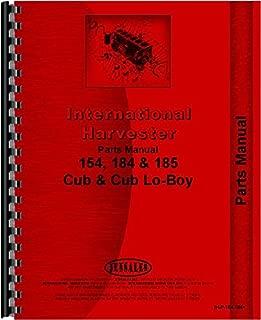 International Harvester Cub 154 Lo-Boy Tractor Parts Manual (1968-1974)