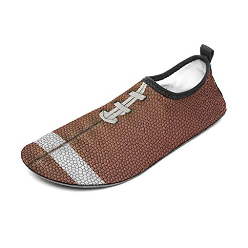 Bannihorse 40/41 - Zapatillas de baloncesto para hombre con textura para deportes de playa, piscina, yoga, color blanco