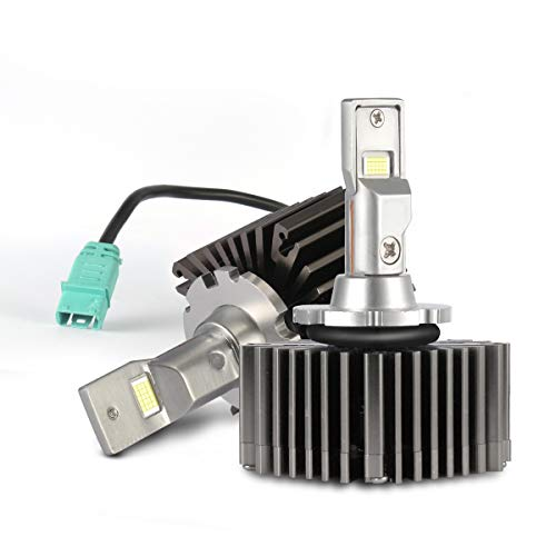 D3S D3R Led Headlight Bulb Conversion Kit 50W 10000LM Plug Play to Original HID Ballast Canbus Error Free D3 For VW Audi Mercedes Ford BMW