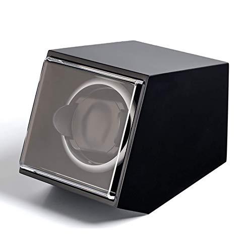 Uhr Wickler Watch-Wickler - Single Watch Shaker Automatische mechanische Uhren Wickelgeräte-Uhr-Aufbewahrungs-Display-Box-Wickler 5-Gang-Anpassungs-Haushalt Schönes Erscheinungsbild und einfach zu bed