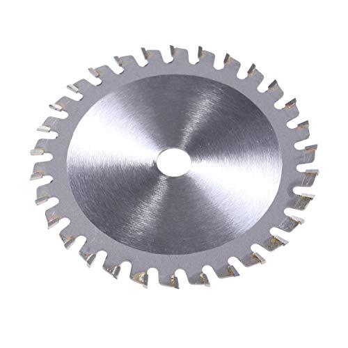 VORCOOL Lame de scie circulaire HSS - 85 mm - 30T - Qualité professionnelle - Pour bois