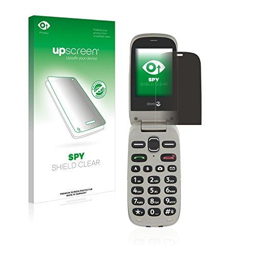 upscreen Anti-Spy Blickschutzfolie kompatibel mit Doro PhoneEasy 632 Privacy Screen Sichtschutz Bildschirmschutz-Folie