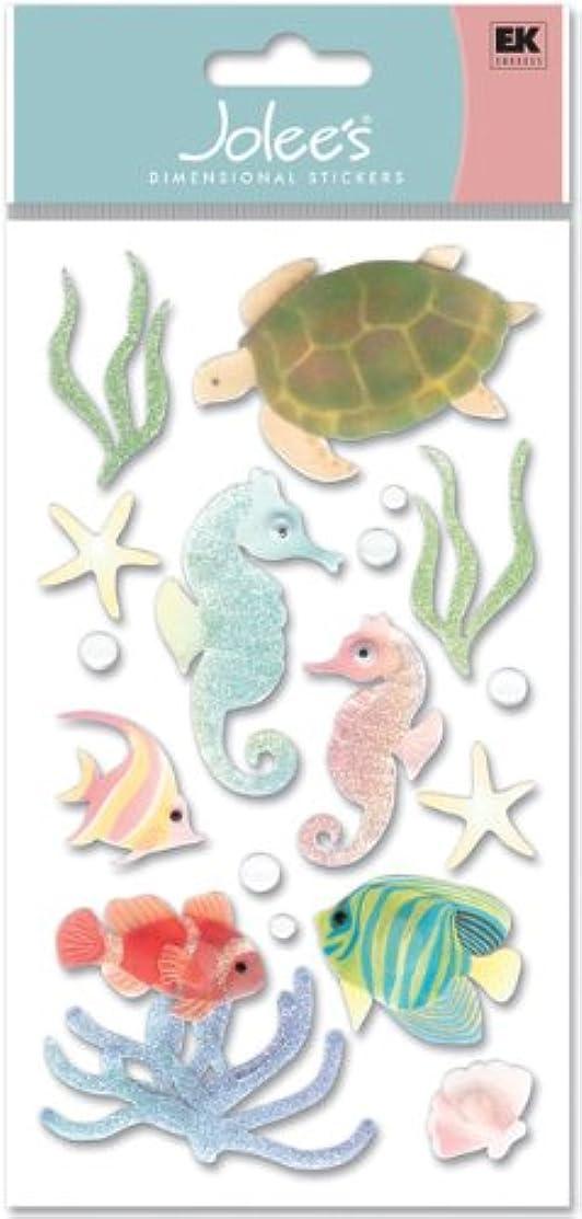 Jolees Boutique Dimensional Stickers, Sea Horses