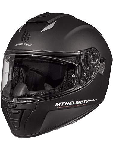 Casco Moto Mt 2019 Blade 2 Sv Solid Matt Negro (S , Negro)