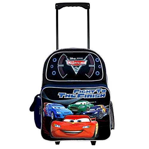 Disney Pixar Cars 2 - Fight to the Finish Large Rolling Backpack