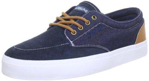 247 Distribution GmbH Dekline Unisex-Erwachsene Mason Skateboardschuhe, Blau (Navy-Lightbrown), 46