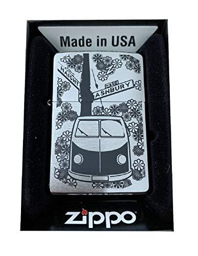 Accendino Zippo originale Planeta Flower Power – USA – Edizione limitata