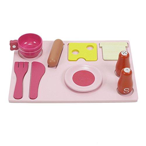 boppi® Küchenspielzeug aus Holz mit Zubehör 19-teilig - 8