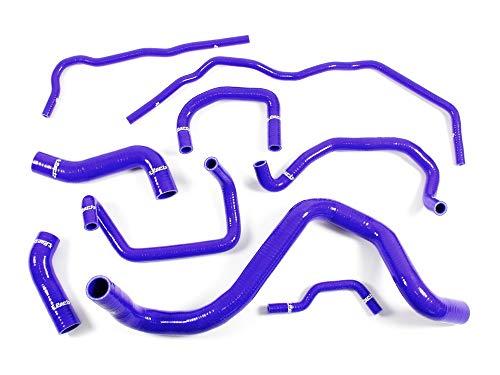 1.8T Tubo de silicona para agua fría, color azul, para Golf 4 A3 TT Leon 1.8T 20 V Turbo AJQ APP ARY 1010926