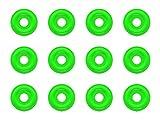 Premium Nylon CO2 Regulator Washers, Self Centering, Fits All CGA-320 Fittings (12)