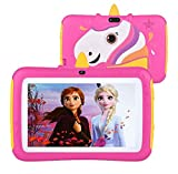 Tablet for Kids,7 inch Kids Tablet Android 9.0 Edition Tablet with WiFi and Bluetooth,Tablet for Kids with 2GB+16GB,Children Tablet with Parental Control (Pink)