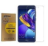 [3 Pezzi] Vetro Temperato Trasparente per Huawei Nova Smart/Honor 6C DIG-L01 L21HN TL10 5.0inch AntiGraffio Pellicola Protettiva per Schermo