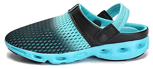 zapatos de playa Zapatillas de verano transpirables zapatos de playa, zapatos de agujero antideslizante Baotou Seaside Slippers para hombre zapatos de agua para mujer para mujeres al aire libre zapato