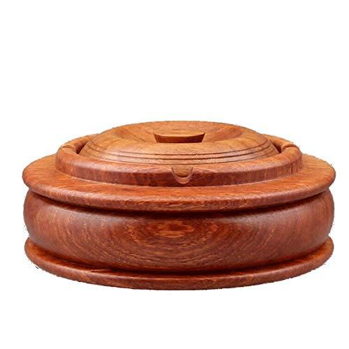 QINGQING Tapa cenicero Tapa,cenicero cenicero de Cemento,Adecuado para el hogar/Sala de Estar/Mesa de Centro de Acero Inoxidable con