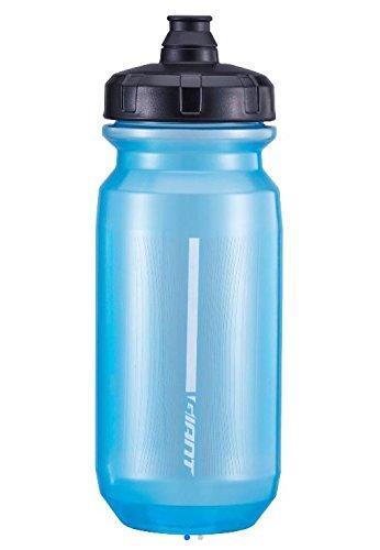 Giant Trinkflasche für Fahrrad, transparent, hellblau, 600 cc, für Wasserrad, Mountainbike, Laufen