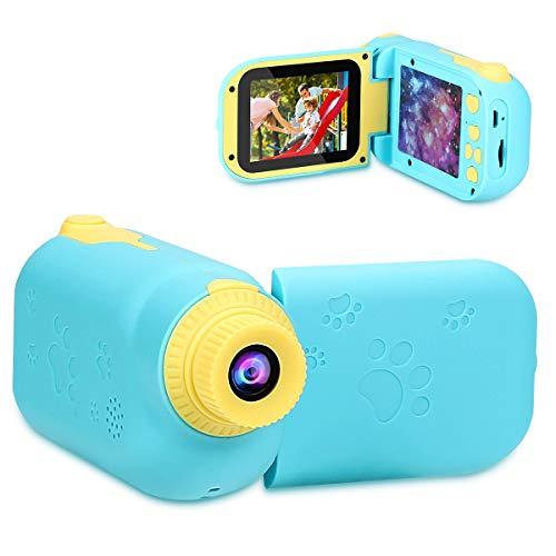 Amicool キッズカメラ トイカメラ 子供用デジタルカメラ 子供用 ビデオカメラ 子供 1200万画素 2.4インチ  ...