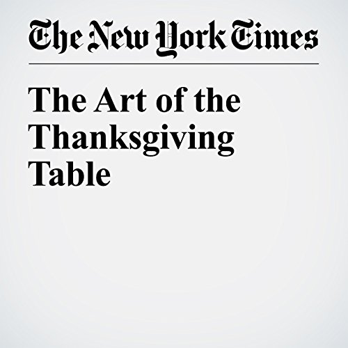 The Art of the Thanksgiving Table cover art