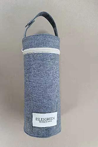 ESLESGREEN - Termo bebé 500 ml con portabiberón universal