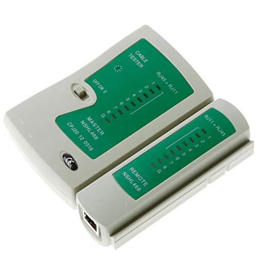 KENANLAN Professionelle RJ45 Kabel LAN Tester Netzwerkkabel Tester RJ45 RJ11 UTP LAN Kabel Tester Netzwerk Repair Tool