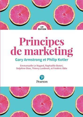 Principes de Marketing + MyLab - 14e édition