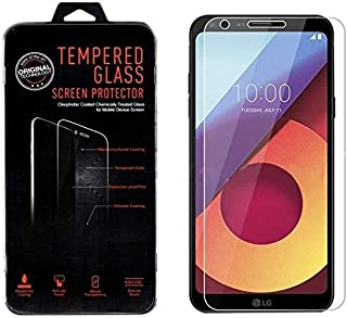 Tempered Glass Screen Protector 2.5D For LG Q6, Clear