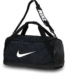 Nike Unisex Sports Bag Brasilia 6, black, 62 x 33 x 35 cm, 62 Liter, BA4829-001