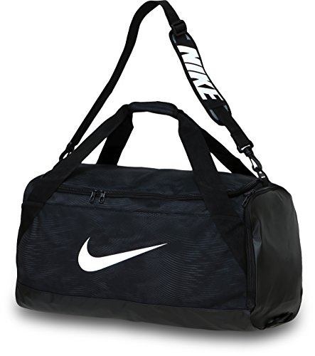 Nike Brasilia 6 Duffel Bag Black/White Size Medium