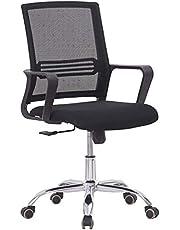 Mahmayi Sleekline 69033 Low Back Mesh Chair Black