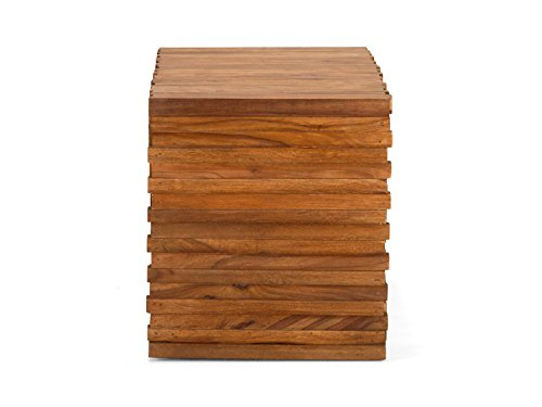 massivum Truhe Abadi 80x50x45 cm Palisander braun lackiert - 10