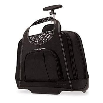 Kensington K62533US Contour Balance Notebook Roller Bag in Onyx Fits Most 15-Inch Notebooks