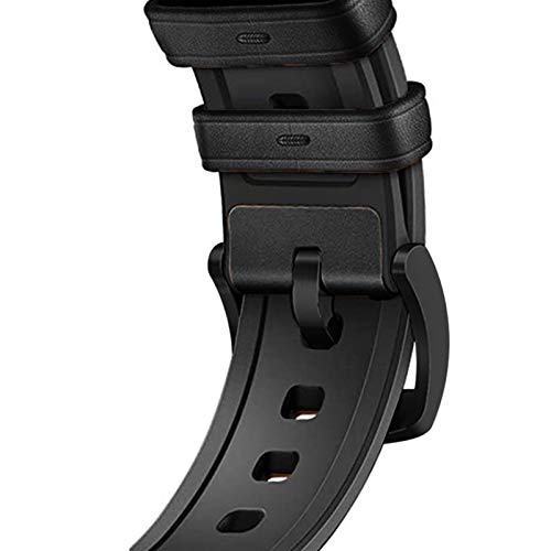 LRJBFC Silicone in Pelle 40 Millimetri Cinghia for Apple Watch Band IWatch Banda 38 Millimetri 42 Millimetri 44 Millimetri Cinturino Braccialetto for Apple Osservare Serie 5 4 3 2 1