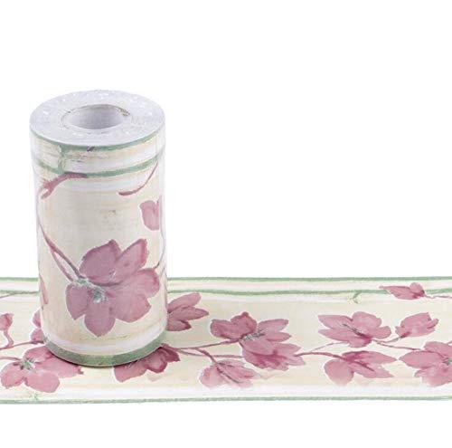 10CM x 10M Tapete PVC Bordüre Selbstklebend Wandbordüre Klebefolie Küche Fensterbank Folie Tapeten Badezimmer Dekoration Bordüren (K)