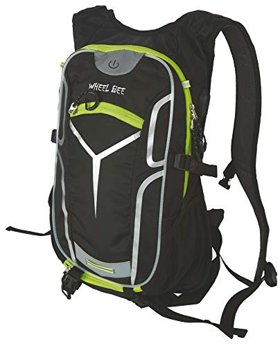 Wheel Bee Bike Backpack Stelvio, Black No Color