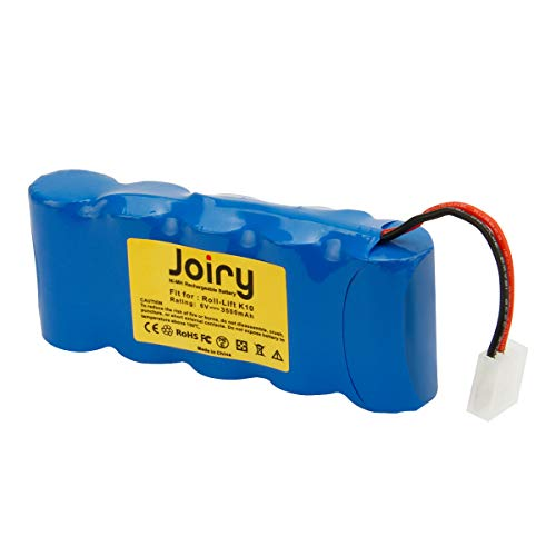 Joiry 6V 3.5Ah Ni-MH Batería para Bosch SOMFY K8/SOMFY K10/