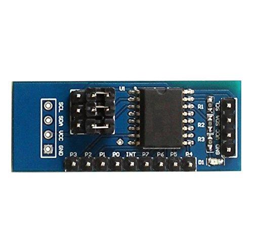 Demarkt PCF8574 PCF8574T Modul IO-Erweiterungsmodul I/O-Erweiterungsmodul I2C