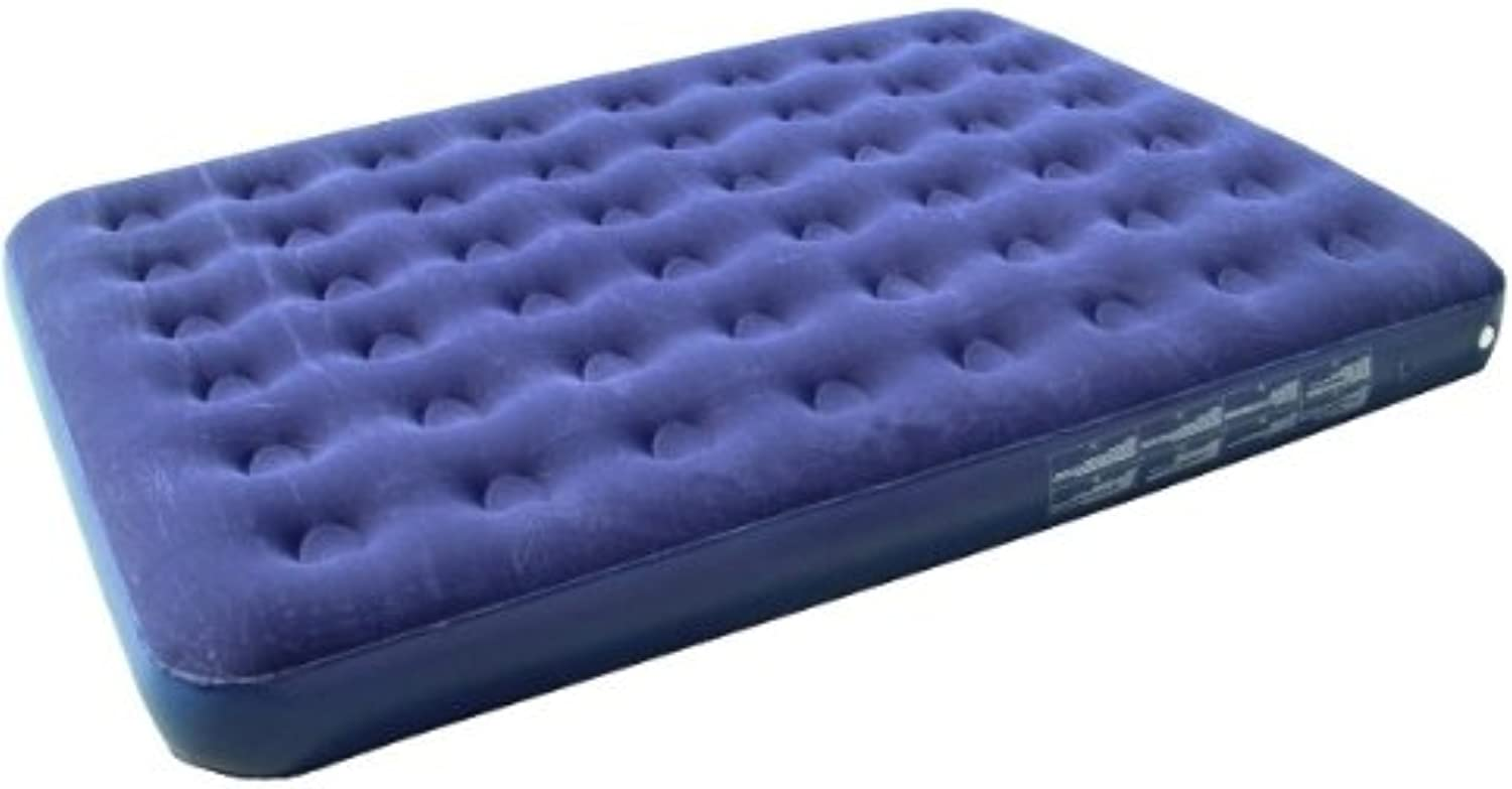 Yellowstone Double Flock Airbed  bluee