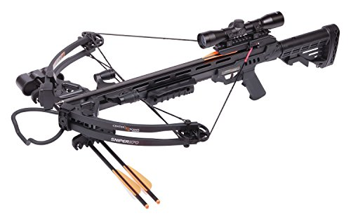 CenterPoint AXCS185BK Sniper 370 Crossbow Package, Black, One Size