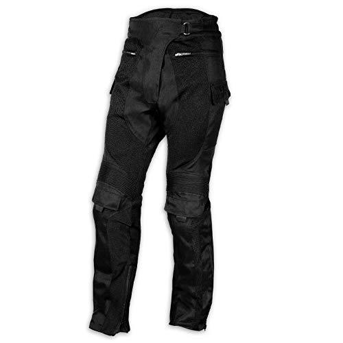 jeans donna moto A-Pro Pantaloni Moto Jeans Mesh Tessuto Cordura Traforato Estivo Protezioni Donna 34