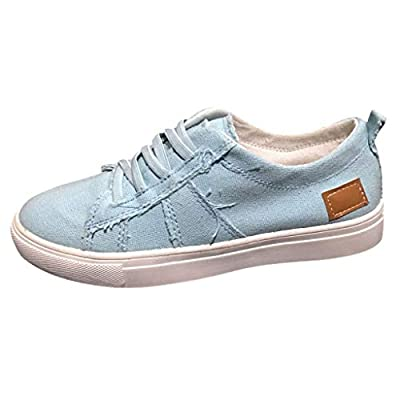 RAINED-Fashion Women's Suede Classic Sneaker Peas Shoes Summer Casual Flat Low Top Single Shoes Lace-Up Shoes