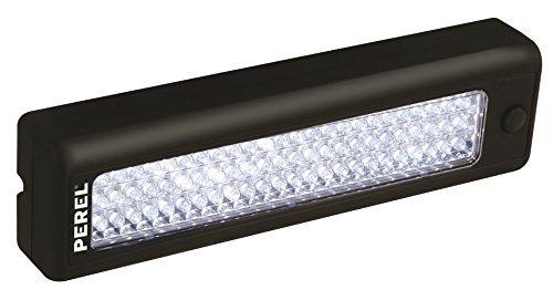 Velleman 59326 Lampe Autonome 72 LED Fixation Crochet Aimant, Noir