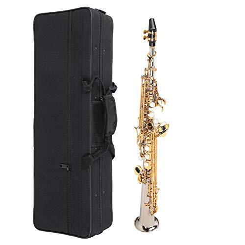 Fybida Saxo Recto práctico para Amantes de la música. para los entusiastas del saxofón,